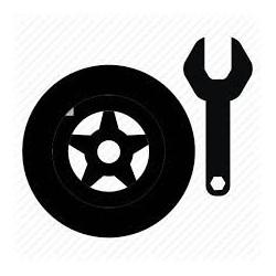 Reparación de rueda de...