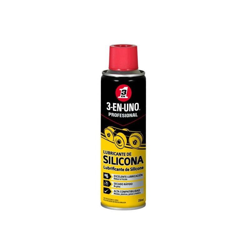 Lubricante silicona 3en1 PROFESIONAL (SPRAY 250 ML)