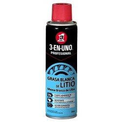 Lubricante Litio 3en1 PROFESIONAL (SPRAY 250 ML)