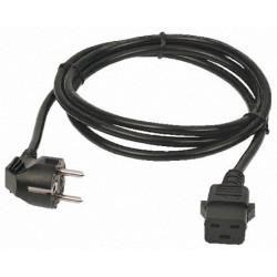 Cable 5M SCHUKO macho a IEC hembra