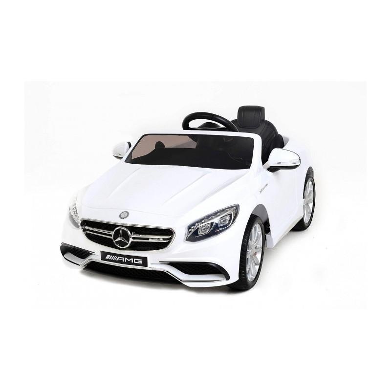 Mini coche eléctrico para niños modelo MERCEDES AMG S63 una plaza