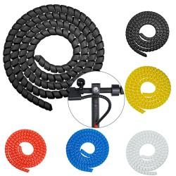 Organizador protector de cables para patinete